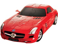 Mercedes SLS AMG GT - 3D Jigsaw Puzzle Car Kit