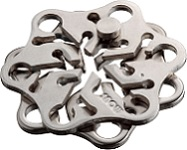 Cast Snow - Hanayama Metal Puzzle