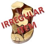 Irregular - Calla Lily - Secret Wooden Puzzle Box