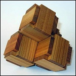 4 Boxy - Wooden Puzzle Brain Teaser