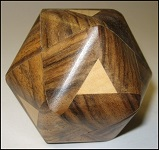 Truncocta Oval 9 - Wooden Puzzle Brain Teaser