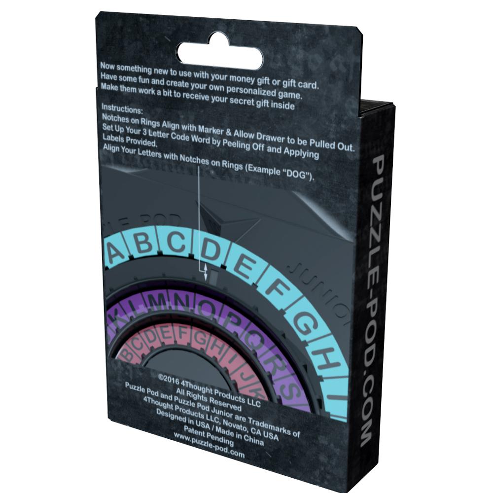 Puzzle Pod Junior - Gift Card or Money Puzzle