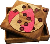 Cookie - Wooden Brain Teaser Puzzle