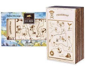 Caribbean Treasure Secret ESCAPE Puzzle Box