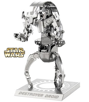 Destroyer Droid Star Wars - Metal Earth 3D Model Puzzle