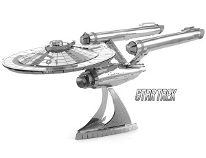USS Enterprise NCC-1701 Star Trek - Metal Earth 3D Model Puzzle