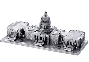US Capitol - ICONX 3D Metal Model