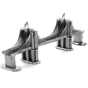 Brooklyn Bridge New York - Metal Earth 3D Model Puzzle