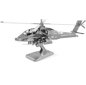 AH-64 Apache - Metal Earth 3D Model
