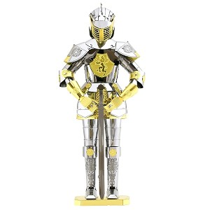 European Knight Armor - Metal Earth 3D Model Puzzle