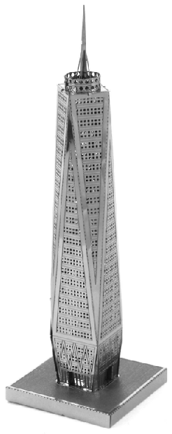World Trade Center - Metal Earth 3D Model Puzzle