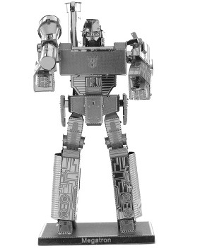 Megatron Transformers - Metal Earth 3D Model Puzzle