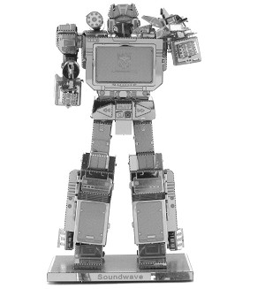Soundwave Transformers - Metal Earth 3D Model Puzzle