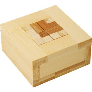 Beta Funzzle Bamboo Packing Problem Wooden Puzzle