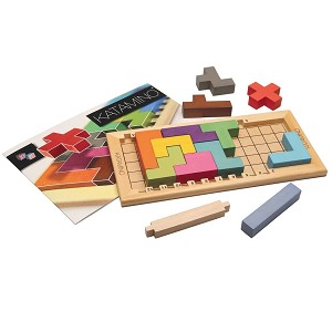 Katamino - Pentominoes Wooden puzzle and Strategy Game by Gigamic