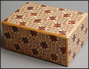 4 Sun 10 Steps Star - Japanese Puzzle Box