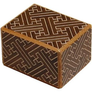 2 Sun 10 Steps Saya - Japanese Puzzle Box
