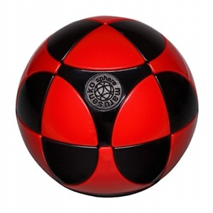 Marusenko Sphere Stage 1 Black and Red Rotation Puzzle