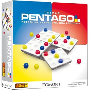 Pentago Triple - Great Strategy Brainteaser Game By MindTwister