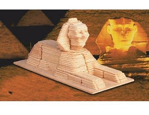 Sphinx - 3D Jigsaw Woodcraft Kit Wooden Puzzle