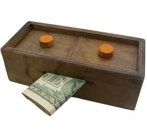 Enigma Secret Puzzle Box Explorer - Money Gift Trick Box