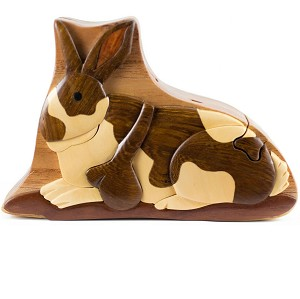 Rabbit - Secret Wooden Puzzle Box