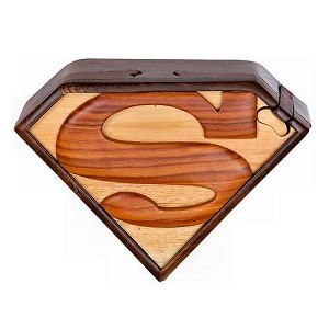 Superman - Secret Wooden Puzzle Box