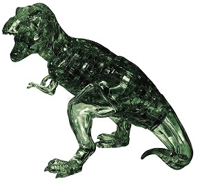 3d Deluxe Crystal Puzzle T-Rex Dinosaur