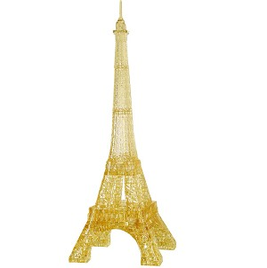 3d Deluxe Crystal Puzzle Eiffel Tower