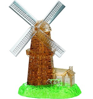 3d Crystal Puzzle Deluxe Windmill