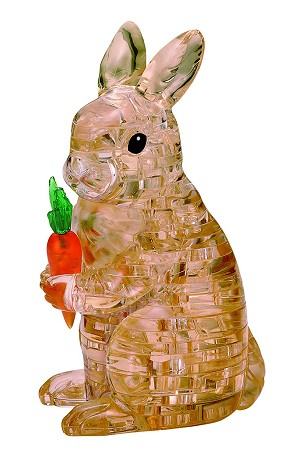 3d Crystal Puzzle Rabbit