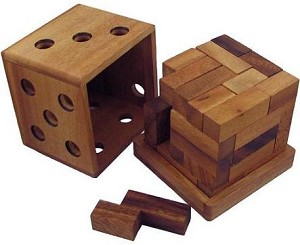 Great Z Cube - Wooden Puzzle Brain Teaser