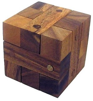 Nails Cube - Wooden Puzzle Brain Teaser