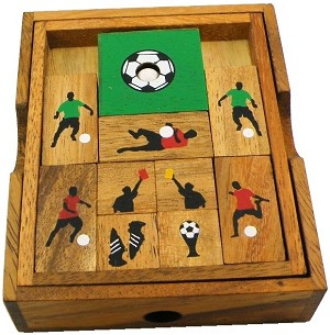 Soccer Field - Wooden Puzzle Brain Teaser
