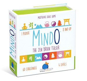 Mindo Zen Edition - Brain Teaser Logic Puzzle Game
