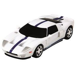Ford GT - White 3D Jigsaw Puzzle Car Kit