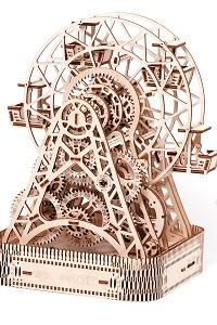 Magic Clock - 3D Mechanical Movement, Engineering Self-Assembled Puzzle