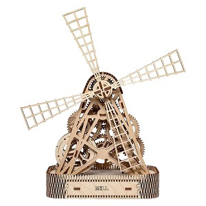 The Mill - 3D Mechanical, Engineering Self-Assembled Puzzle