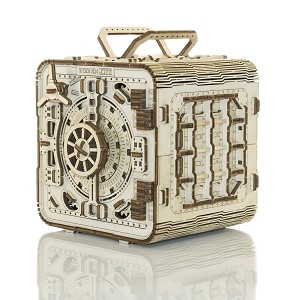 Safe Box - 3D Mechanical, Engineering Self-Assembled Puzzle Box